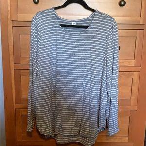 Old Navy Size XXL Striped Sweater